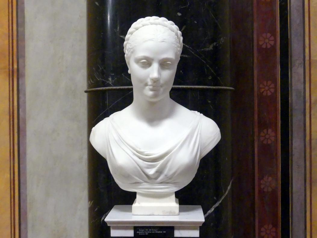 Johann Heinrich Dannecker: Jeanette Caroline von Alopäus, 1812