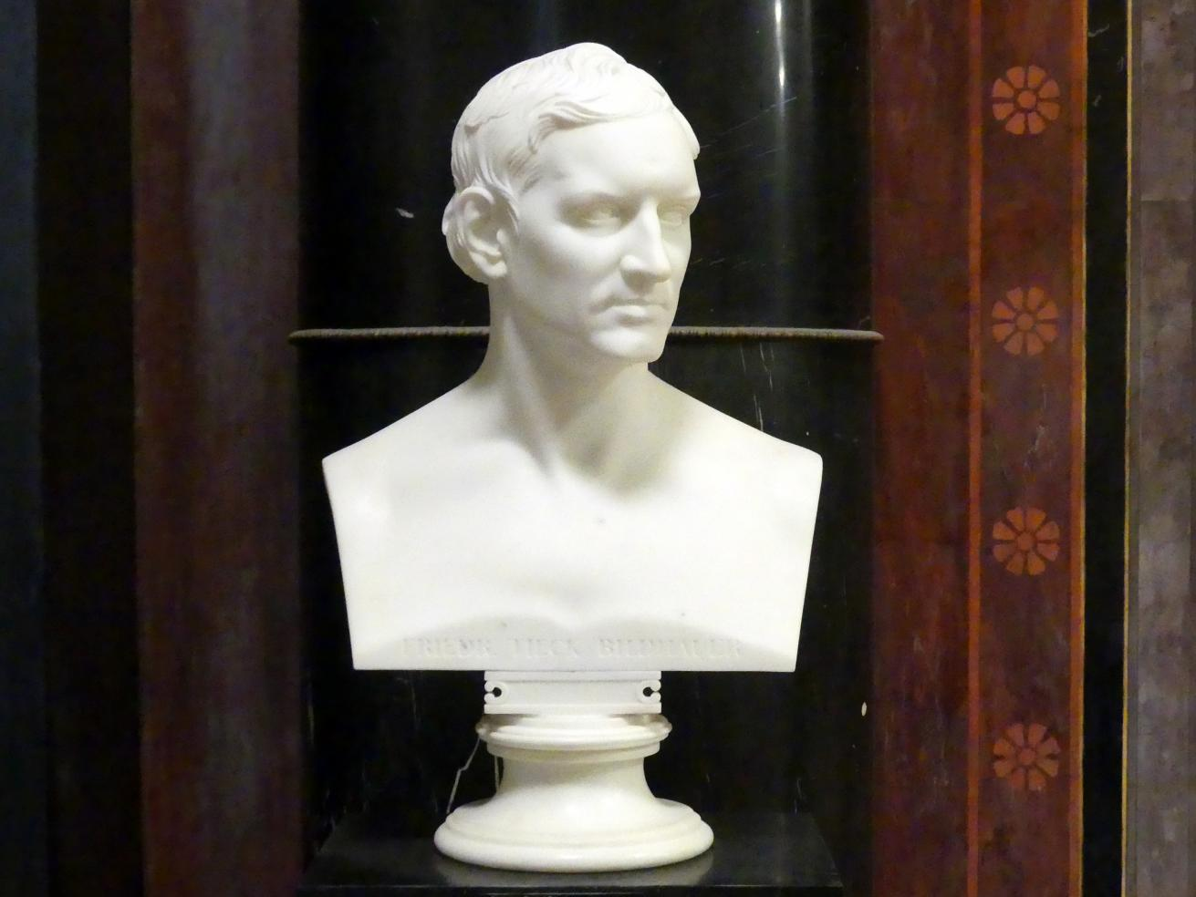 Christian Daniel Rauch: Christian Friedrich Tieck, 1825 - 1839