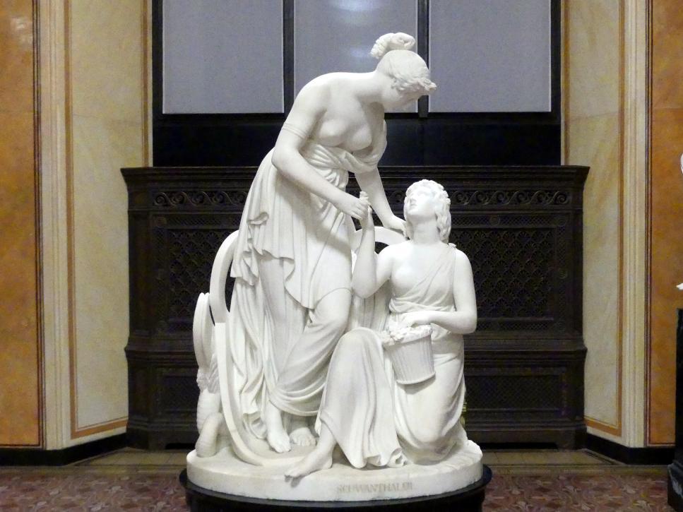 Ludwig von Schwanthaler: Ceres und Proserpina, 1843