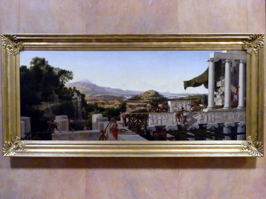 August Wilhelm Julius Ahlborn: Blick in Griechenlands Blüte, 1836