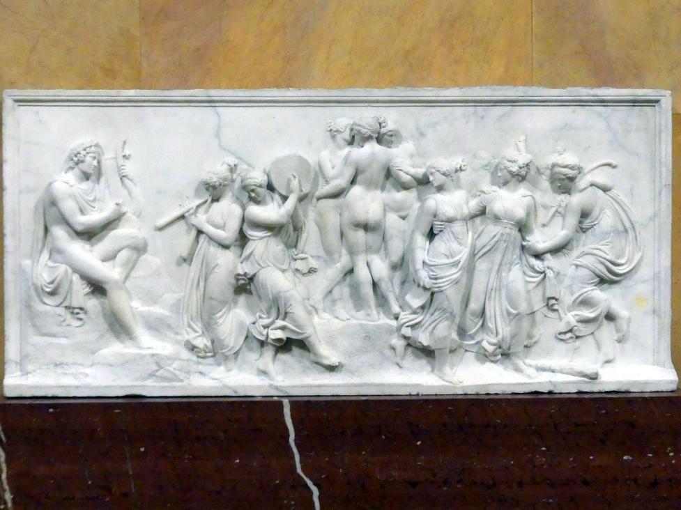 Bertel Thorvaldsen: Tanz der Musen auf dem Helikon, um 1807