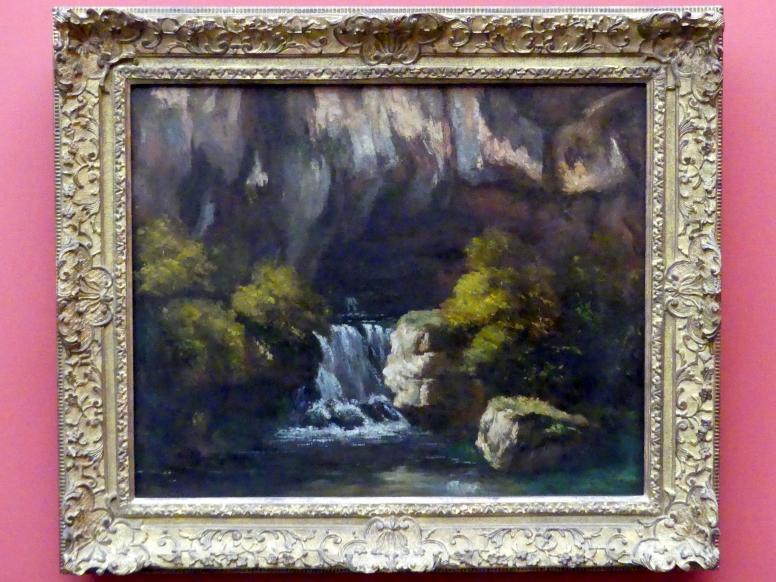 Gustave Courbet: Die Quelle des Lison, um 1864