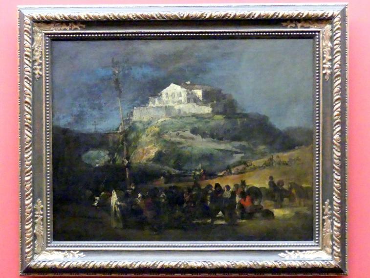 Francisco de Goya (Francisco José de Goya y Lucientes): Der Maibaum, um 1808 - 1812