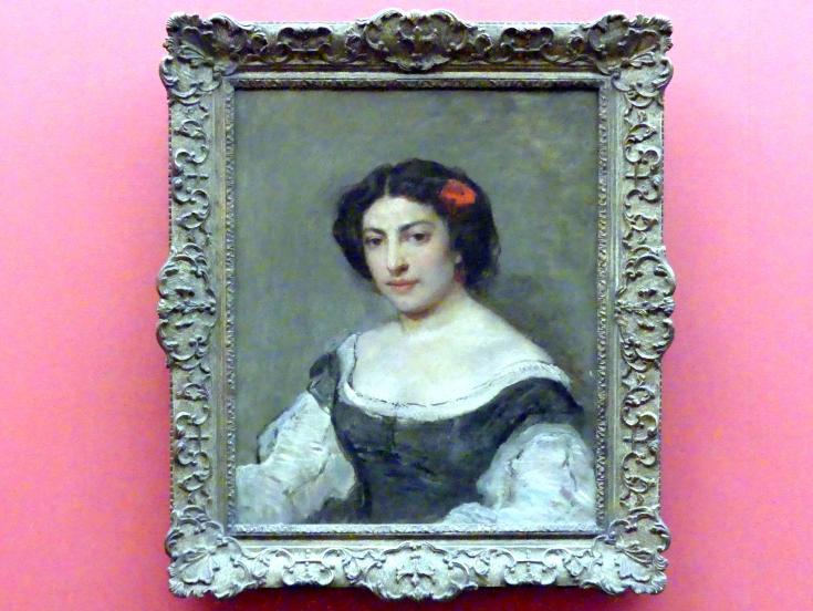 Thomas Couture: Porträt der Marquise Magon de Boisgarin, um 1860