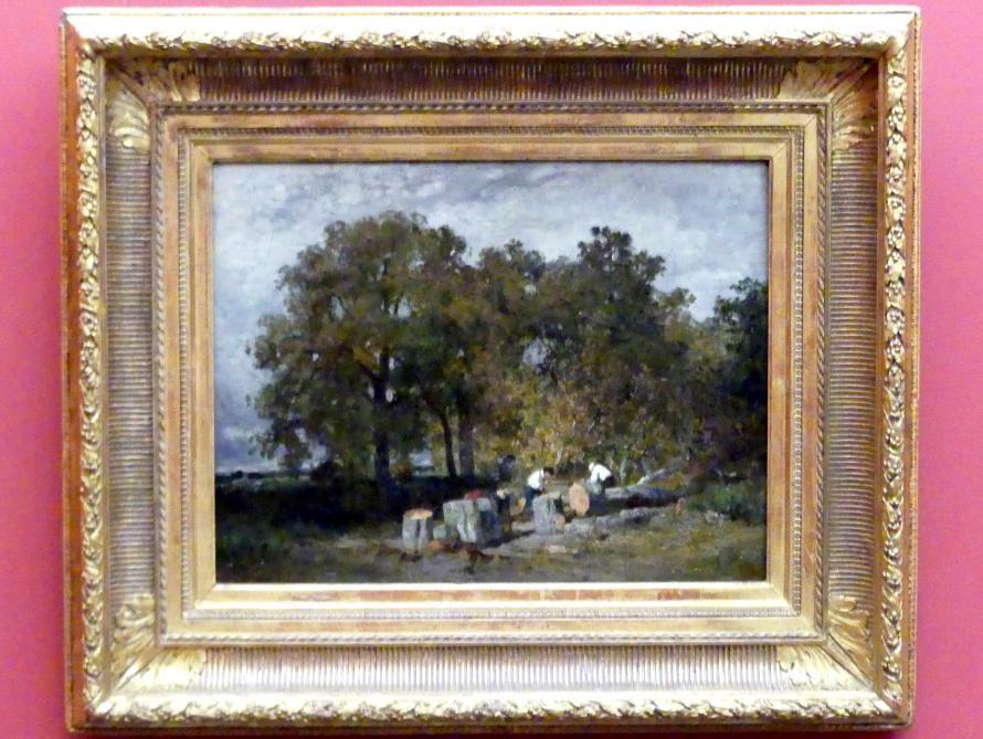 Constant Troyon: Holzfäller, um 1855