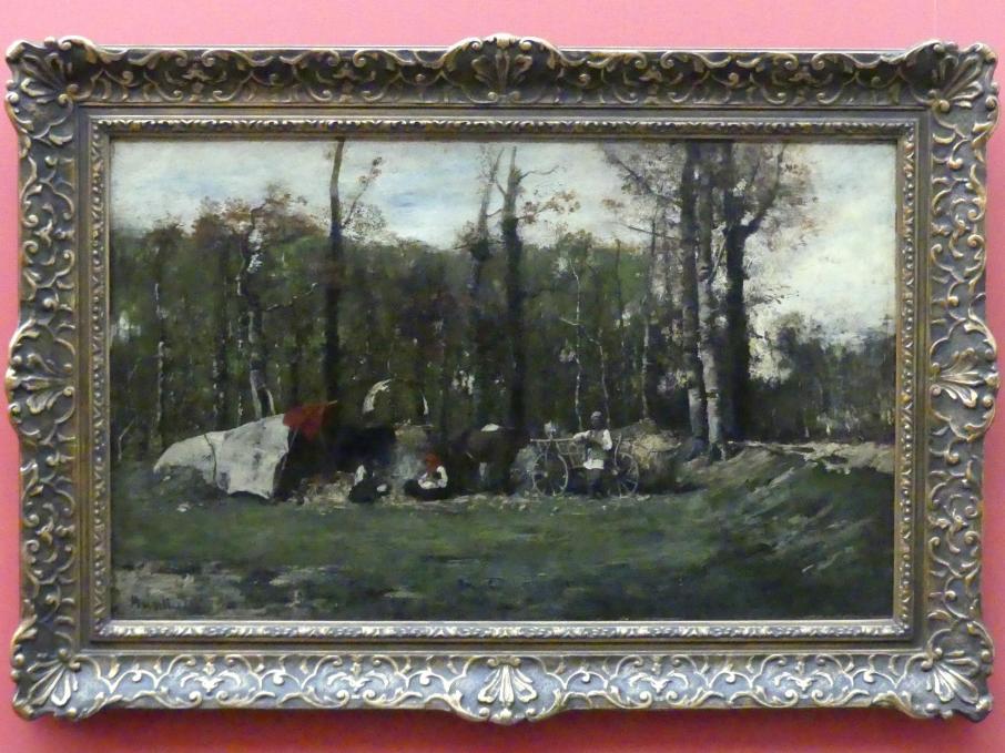 Mihály von Munkácsy: Zigeunerlager, 1873