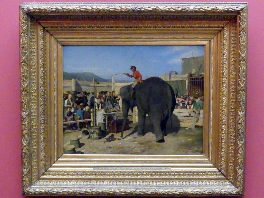 Paul Friedrich Meyerheim: Zirkusvorstellung, 1861