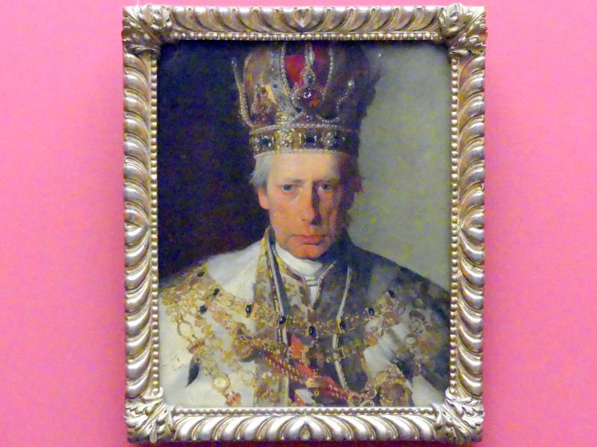 Friedrich von Amerling: Kaiser Franz I. von Österreich, 1832