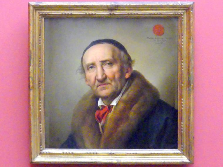 Julius Hübner: Johann Gottfried Schadow, 1832