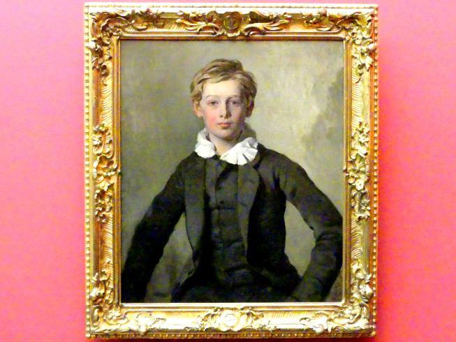 Ferdinand von Rayski: Graf Hans Haubold von Einsiedel, 1855
