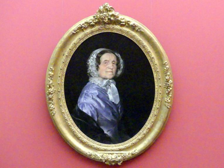 Ferdinand von Rayski: Porträt der Mutter des Künstlers, 1850