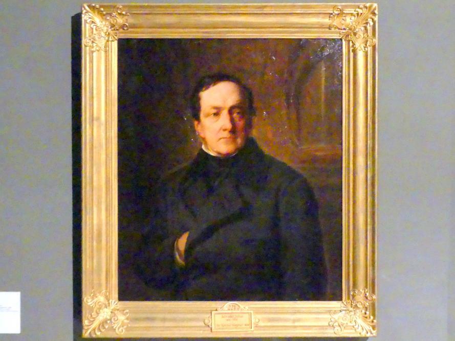 Julius Schrader: Bildnis des Bankiers Joachim Heinrich Wilhelm Wagener, 1856