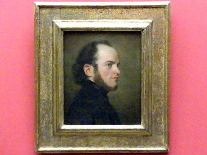 Friedrich Eduard Meyerheim: Porträt des jungen Adolph Menzel, um 1839