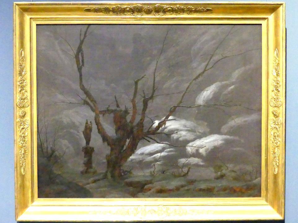 Carl Blechen: Gebirgsschlucht im Winter, 1825