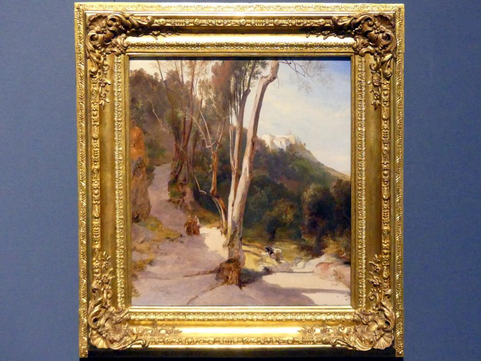 Carl Blechen: Weg nach Castel Gandolfo, 1830