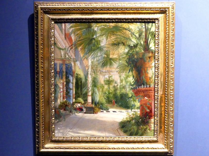 Carl Blechen: Das Palmenhaus auf der Pfaueninsel, 1832