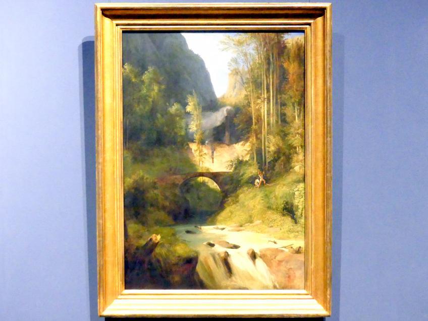 Carl Blechen: Schlucht bei Amalfi, 1831