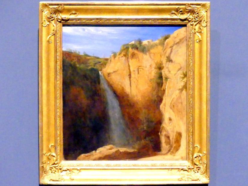 Carl Blechen: Wasserfälle bei Tivoli, um 1832