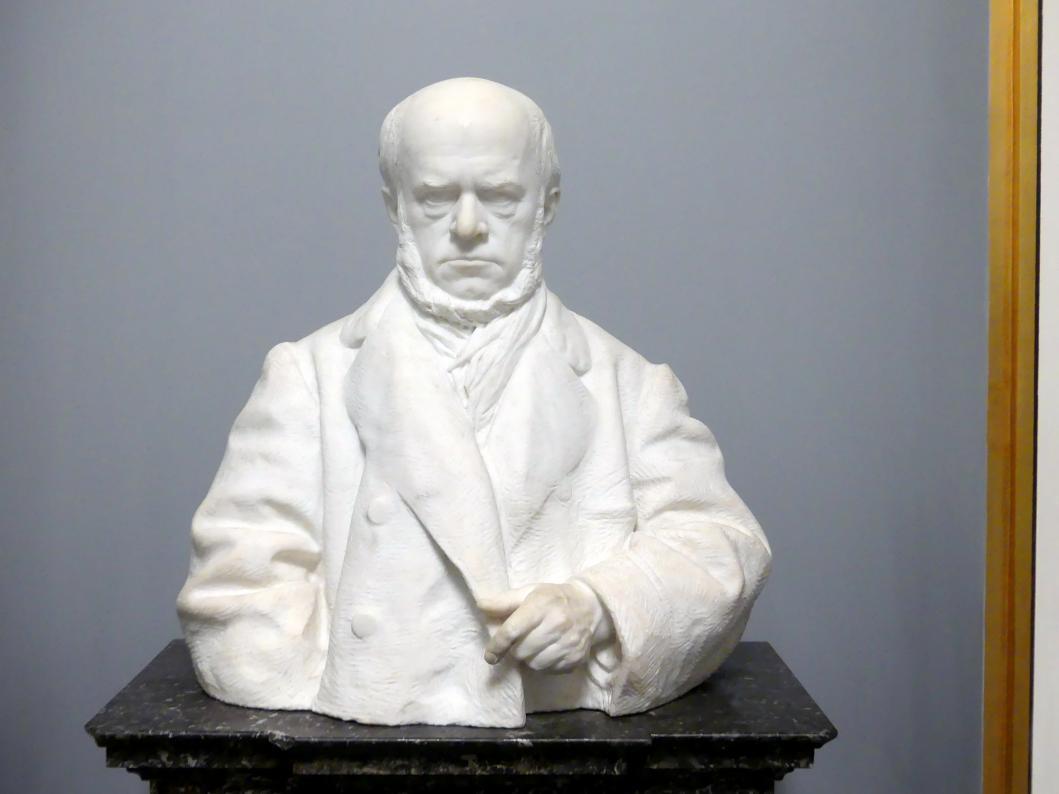 Reinhold Begas: Adolph Menzel, um 1875 - 1876
