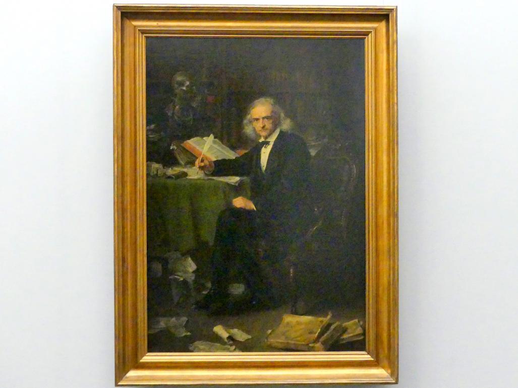 Ludwig Knaus: Der Historiker Theodor Mommsen, 1881