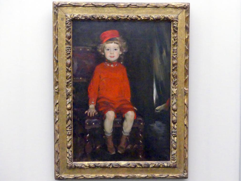 Arthur Kampf: Knabe in Rot, 1907