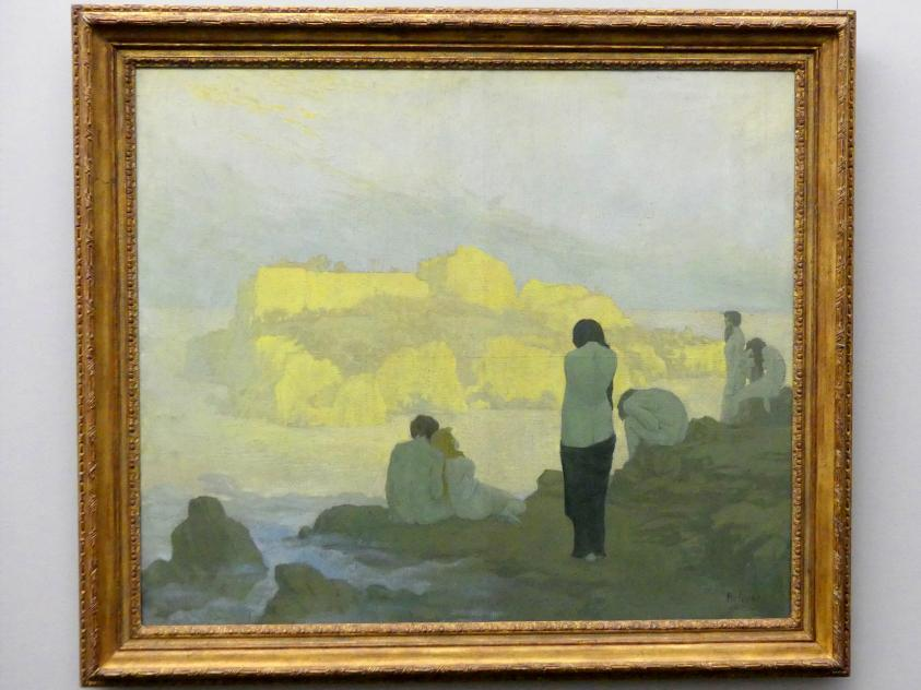 Georg Kolbe: Die Goldene Insel, 1898