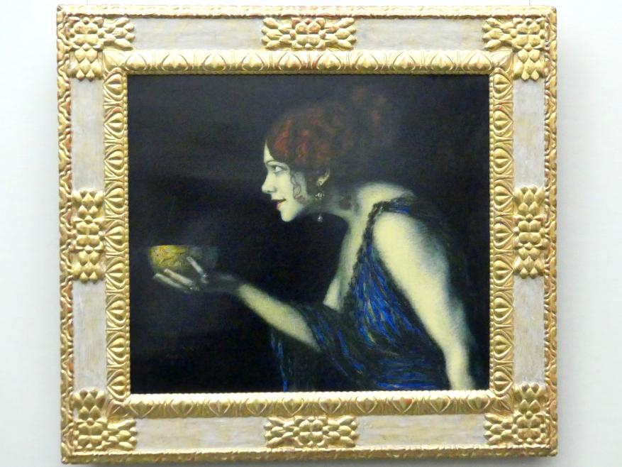 Franz von Stuck: Tilla Durieux als Circe, um 1913