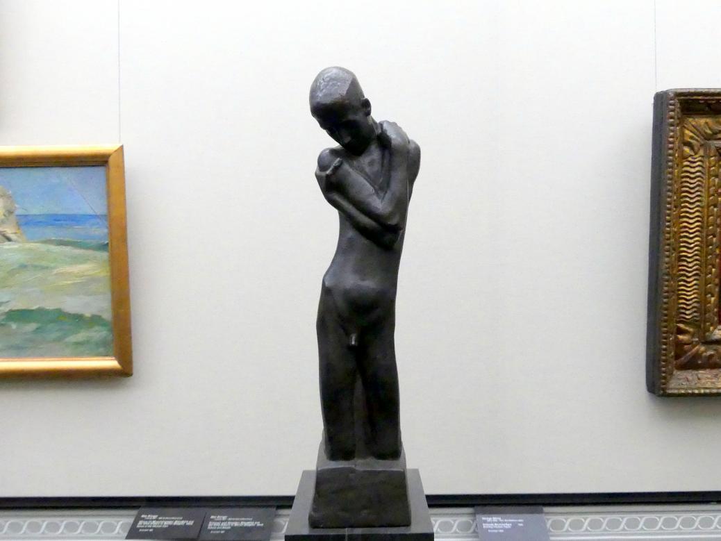 George Minne: Kniende Brunnenfigur, 1898, Bild 2/3