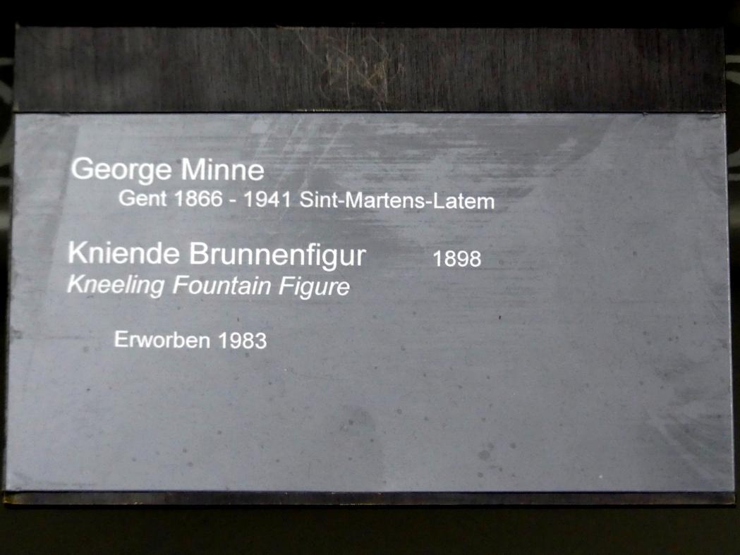George Minne: Kniende Brunnenfigur, 1898, Bild 3/3