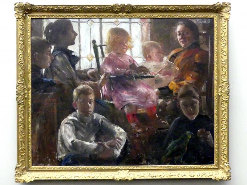 Lovis Corinth: Die Familie des Malers Fritz Rumpf, 1901