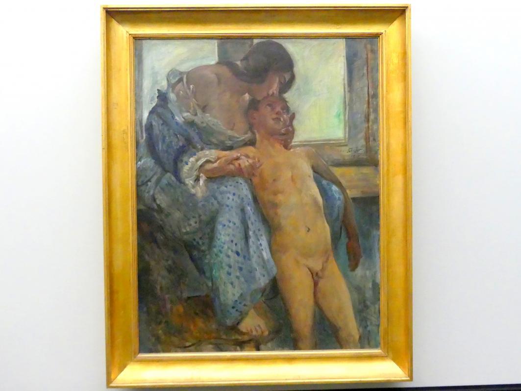 Lovis Corinth: Mutterliebe, 1911