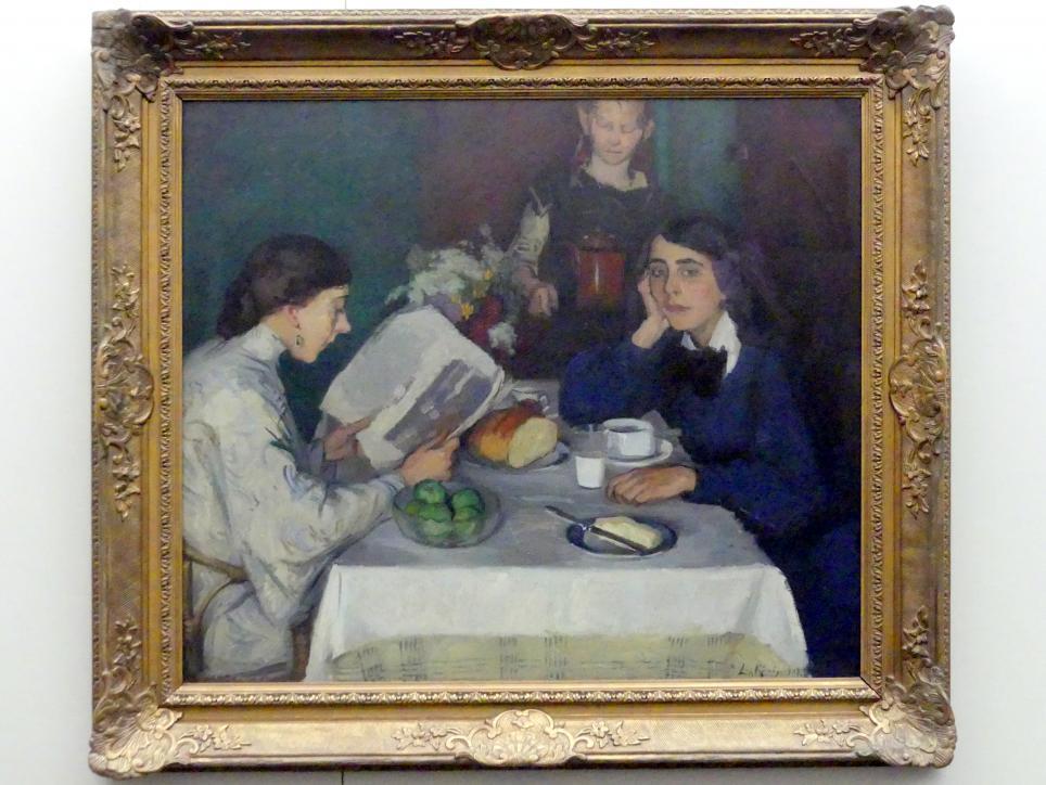 Leo von König: Am Frühstückstisch, 1907
