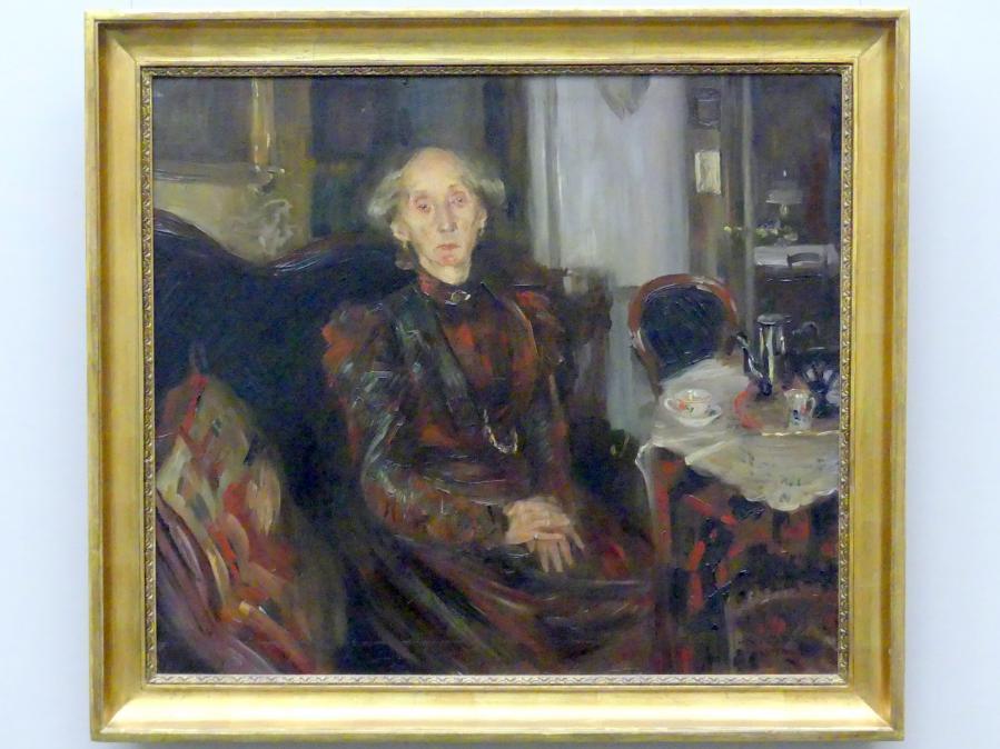 Lovis Corinth: Die Mutter des Kunstkritikers Hans Rosenhagen, 1899