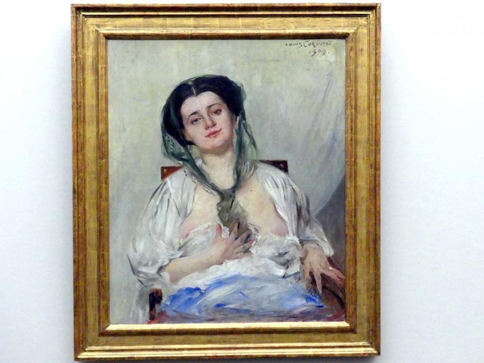 Lovis Corinth: Donna Gravida (Die Gattin des Künstlers), 1909