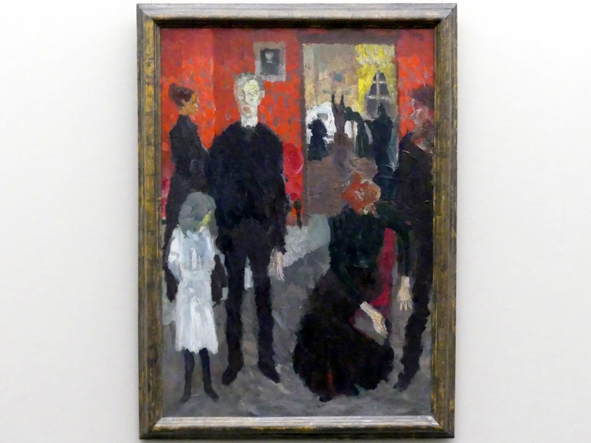 Max Beckmann: Kleine Sterbeszene, 1906