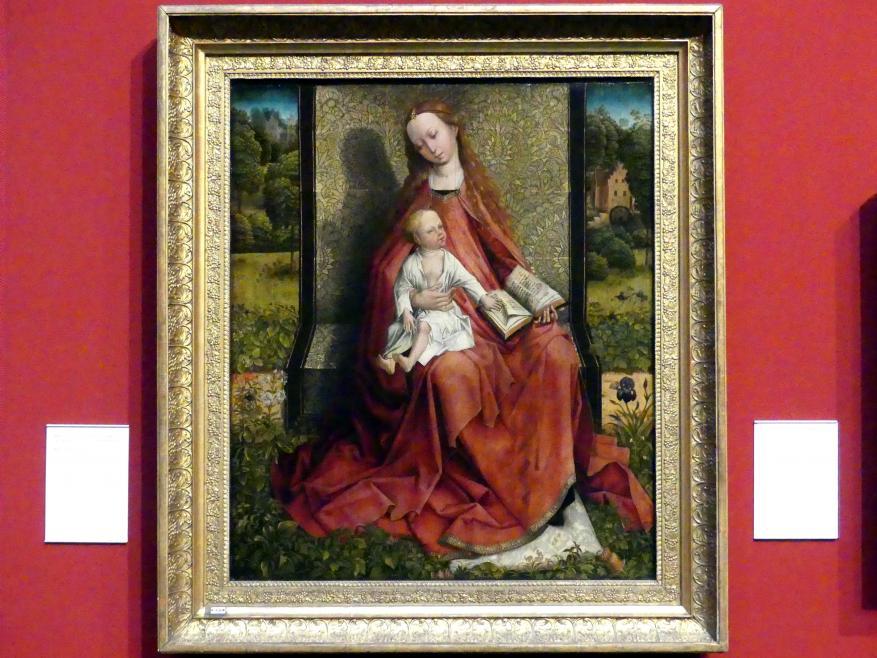 Meister mit dem gestickten Laub: Maria mit Kind, Undatiert