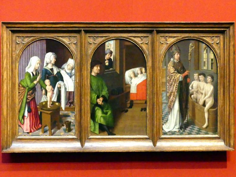 Gerard David: Drei Szenen aus dem Leben des Heiligen Nikolaus, um 1500 - 1520