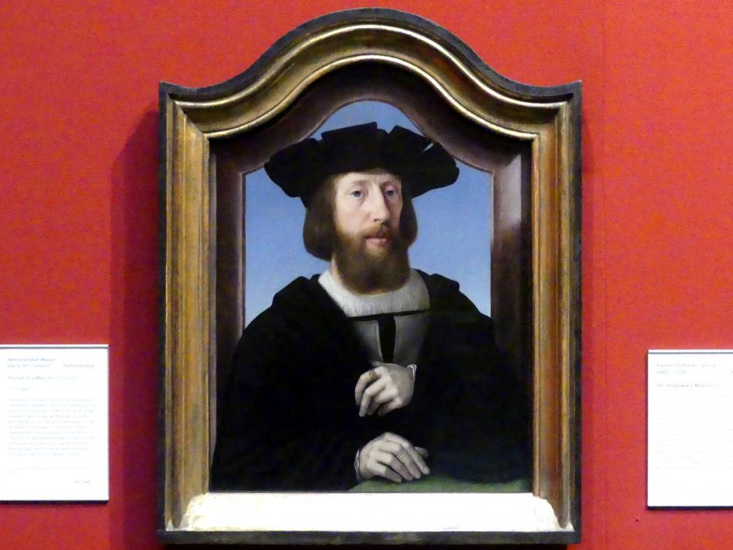 Porträt eines Mannes, um 1520 - 1525