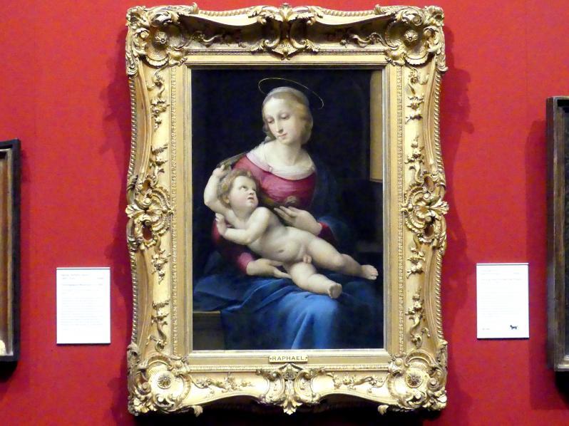 Raffaello Santi (Raffael): Bridgewater-Madonna, um 1508