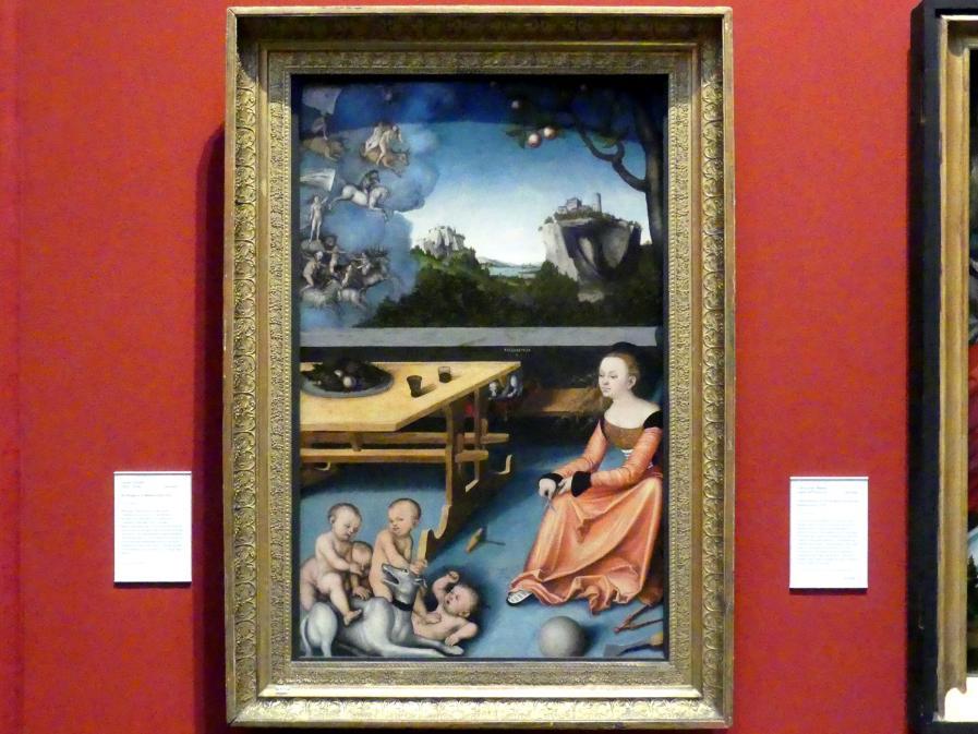 Lucas Cranach der Ältere: Allegorie der Melancholie, 1528