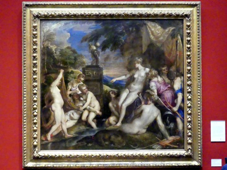 Tiziano Vecellio (Tizian): Diana und Kallisto, 1556 - 1559