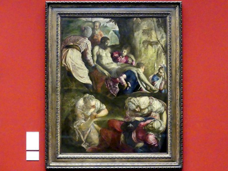 Tintoretto (Jacopo Robusti): Grablegung Christi, um 1563 - 1565