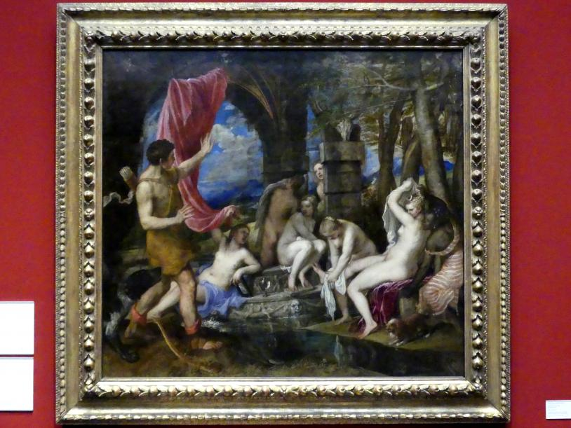 Tiziano Vecellio (Tizian): Diana und Aktaion, um 1556 - 1559