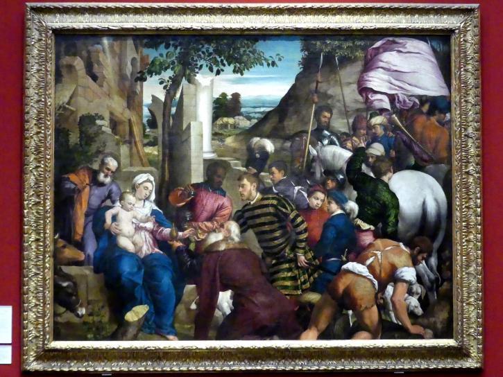 Jacopo Bassano (da Ponte): Anbetung der Könige, 1542