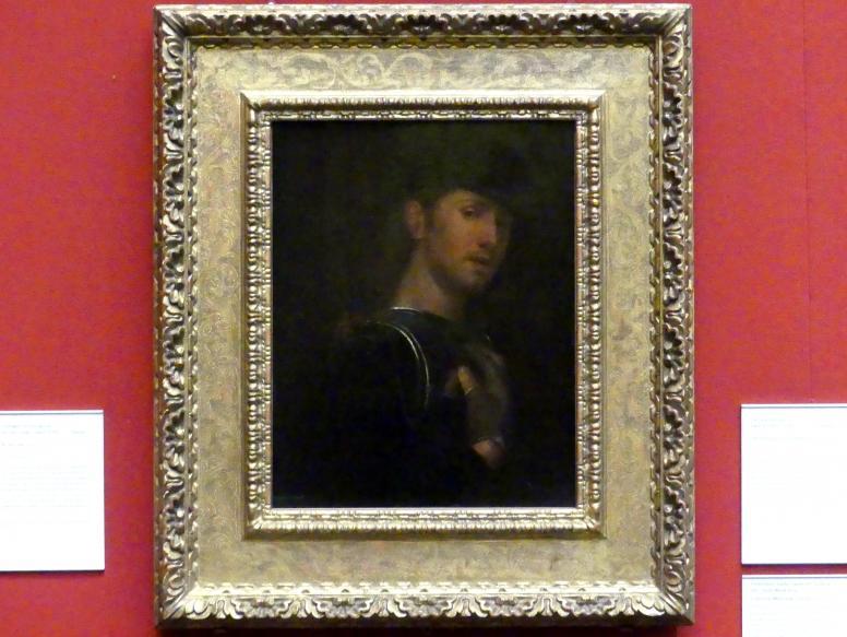 Giorgio da Castelfranco (Giorgione) (Nachfolger): Bogenschütze, um 1510