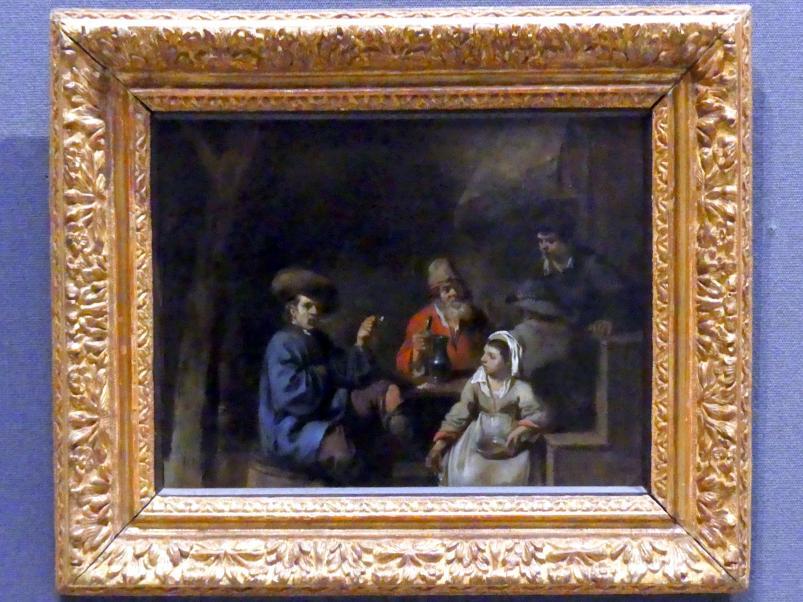 Sébastien Bourdon: In einer Kneipe, um 1640