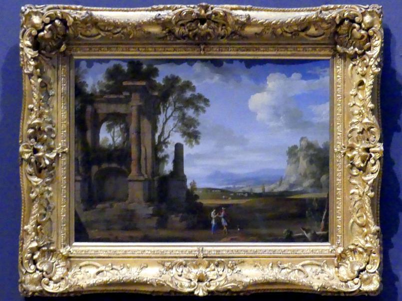 Pierre Patel: Klassische Landschaft mit Juda und Tamar, Undatiert