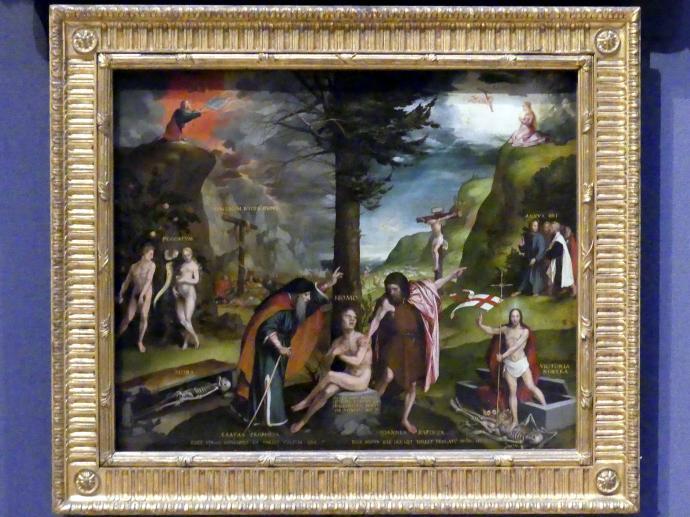 Hans Holbein der Jüngere: Allegorie des Alten und Neuen Testaments, um 1526