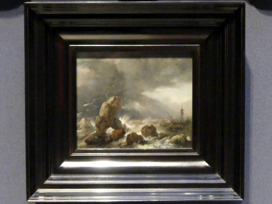 Philips Wouwerman: Stürmische See, um 1650 - 1652