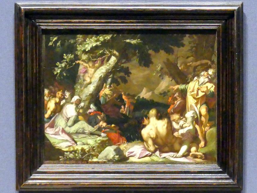 Abraham Bloemaert: Die wundersame Brotvermehrung, 1593